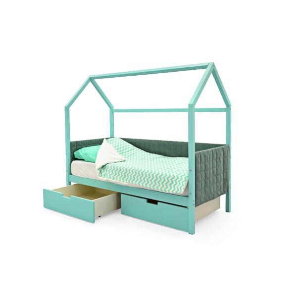 """Кровать-домик мягкий """"Svogen"""""""