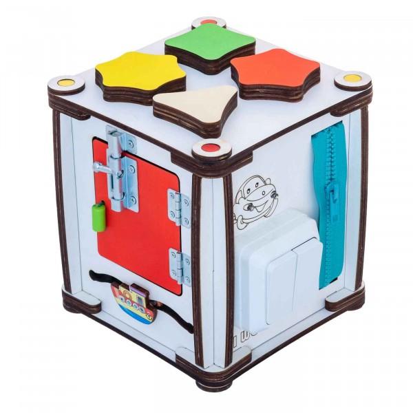Бизи-куб со светом (17х17х18)