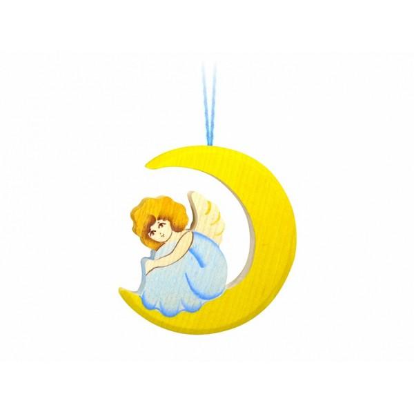 """Подвеска """"Ангел на луне"""""""