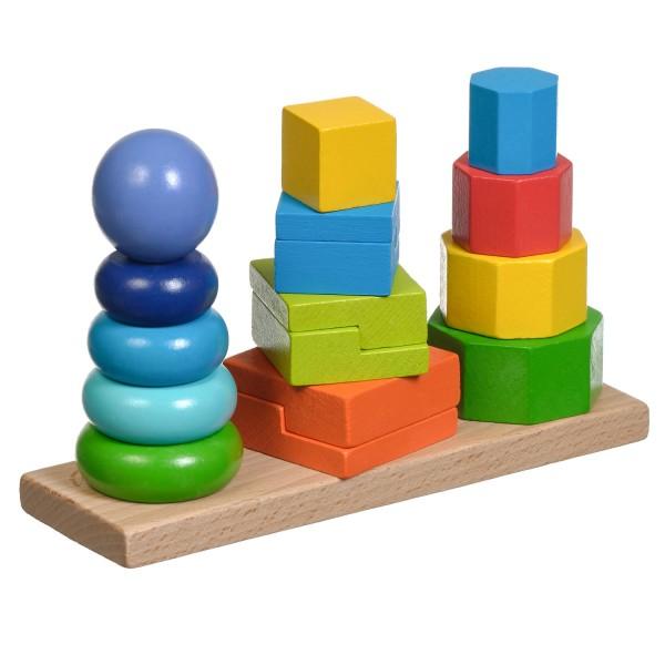 Пирамидки 3 в 1