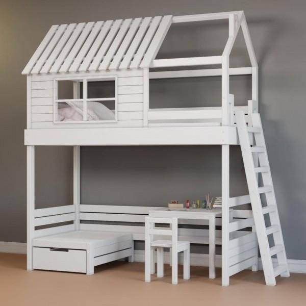 Детский гарнитур с кроватью чердаком