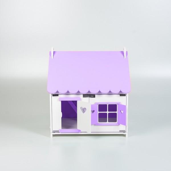 Кукольный домик принцессы (сиреневый)