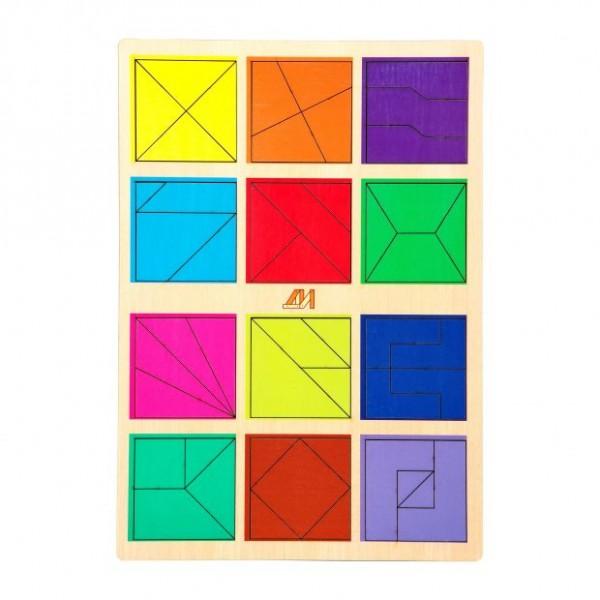 """Игра """"Сложи квадрат 2 уровень"""""""