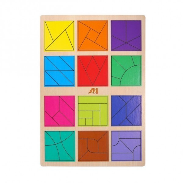 """Игра """"Сложи квадрат 3 уровень"""""""