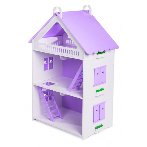 Кукольный домик открытого типа для Барби