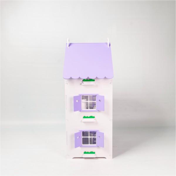 Домик открытого типа для Барби (сиреневый)