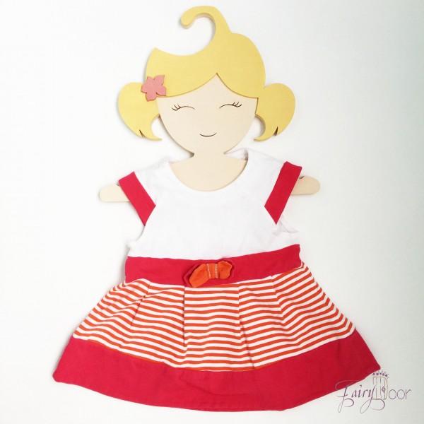 Детская Вешалка плечики Девочка 30 см