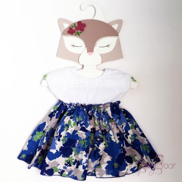 Детская Вешалка плечики Кошка мокко 30 см