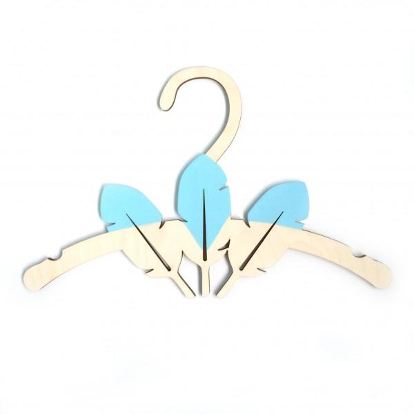 Детская Вешалка плечики Перья 30 см