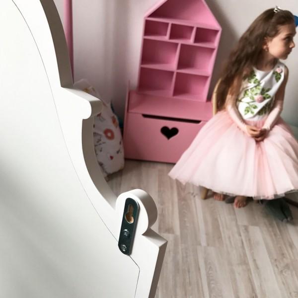 Детское зеркало White House Домик белое 116 х 57 см