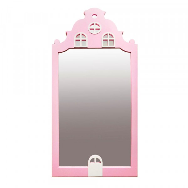 Детское зеркало Pink House Домик розовое 116 х 57 см