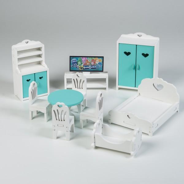 Набор мебели (мятный) для Барби