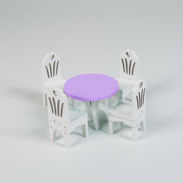 Набор мебели (сиреневый)