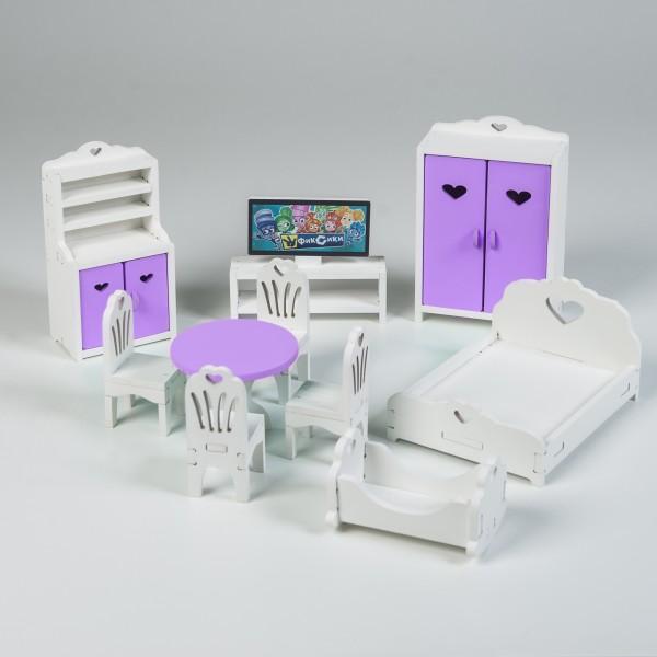 Набор мебели стандарт (сиреневый)