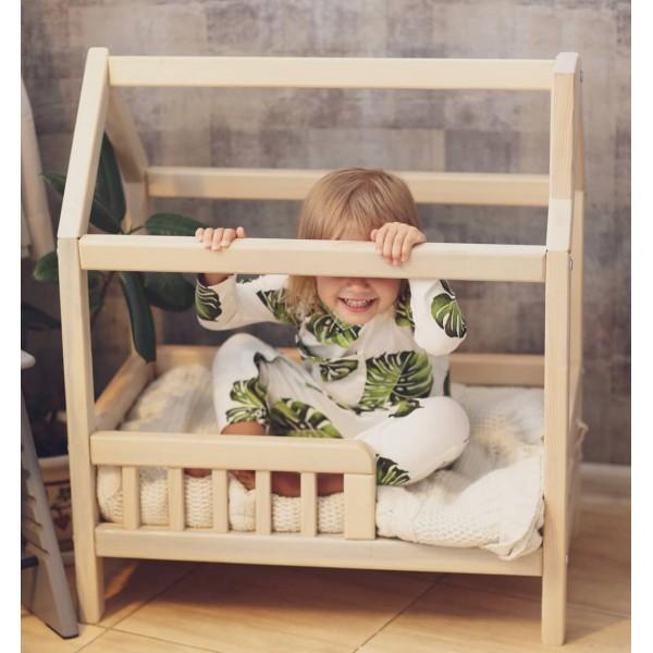 Кроватка-домик для кукол