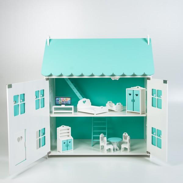 Кукольный домик королевы (мятный)