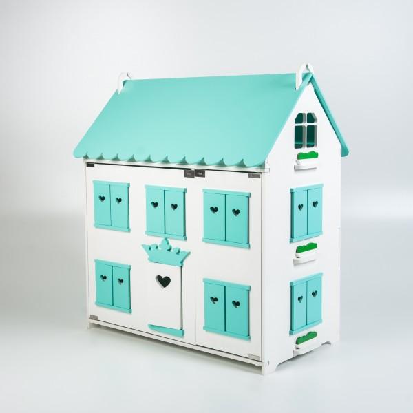 Кукольный домик королевы (мятный) для Барби