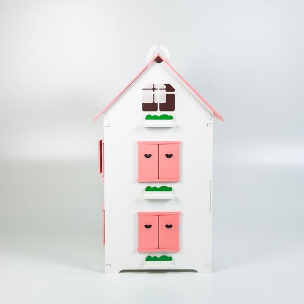Кукольный домик королевы (розовый)