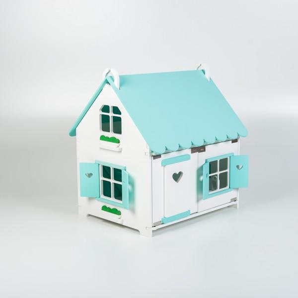Кукольный домик принцессы (мятный) для Барби