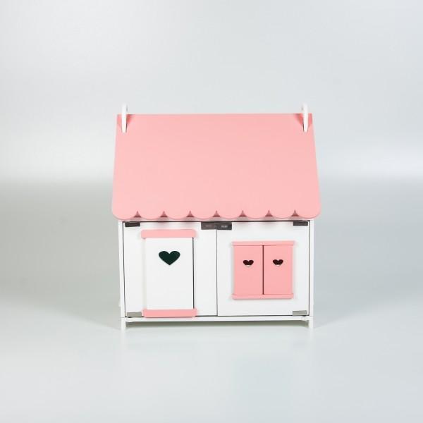 Кукольный домик принцессы (розовый)
