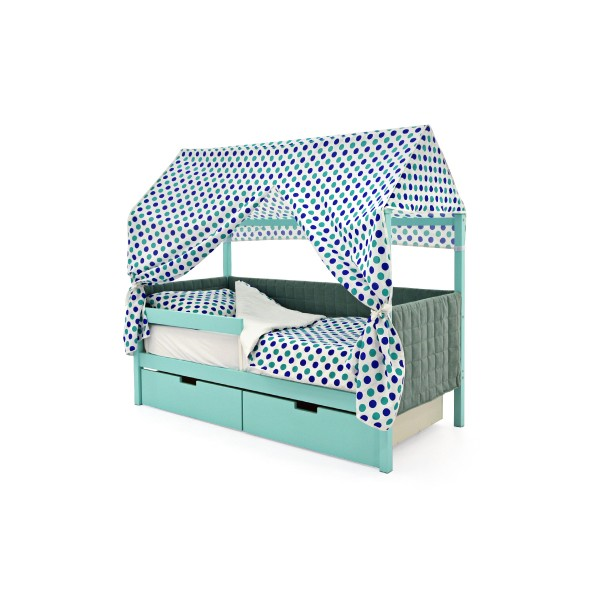 Кровать-домик мягкий