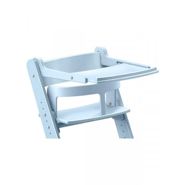 Столик с жестким ограничителем для растущего стула из березы