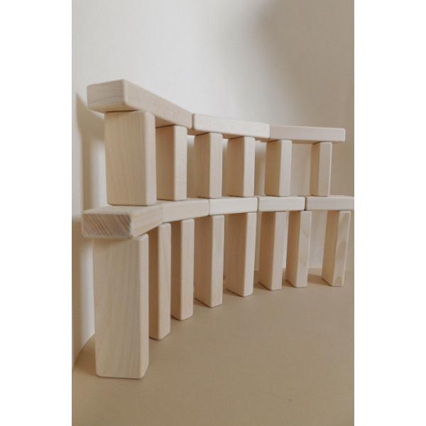 Плашки + Кубики (32шт) неокрашенные