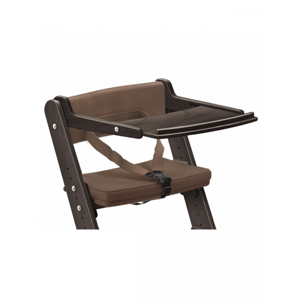 Столик с ограничителем и подушками для растущего стула из березы