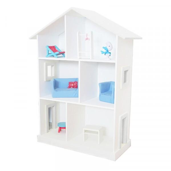 Кукольный дом Большой белый